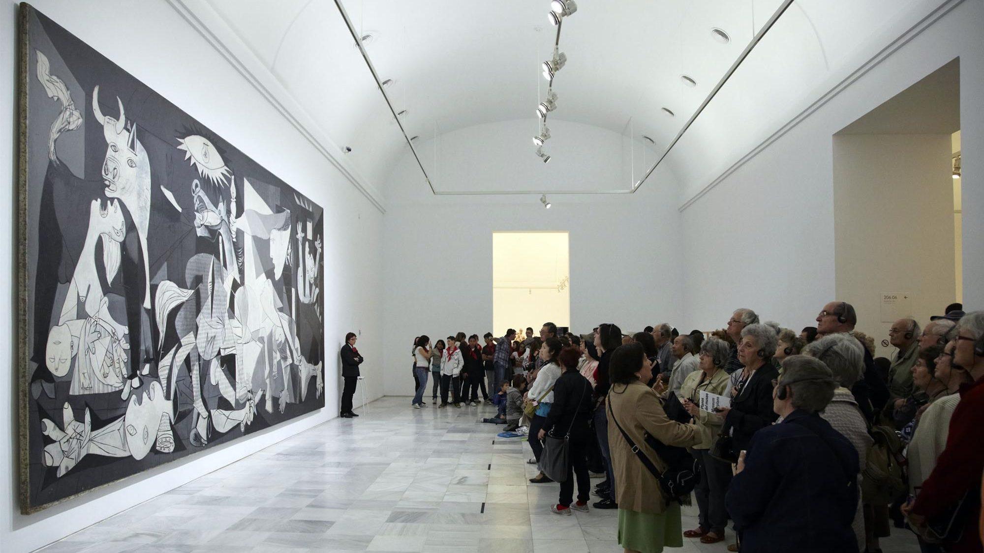 El Guernica llega a España-Operación cuadro grande.