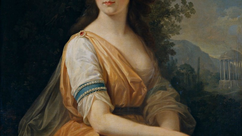 Angelica Kauffmann. La pintora prodigio.