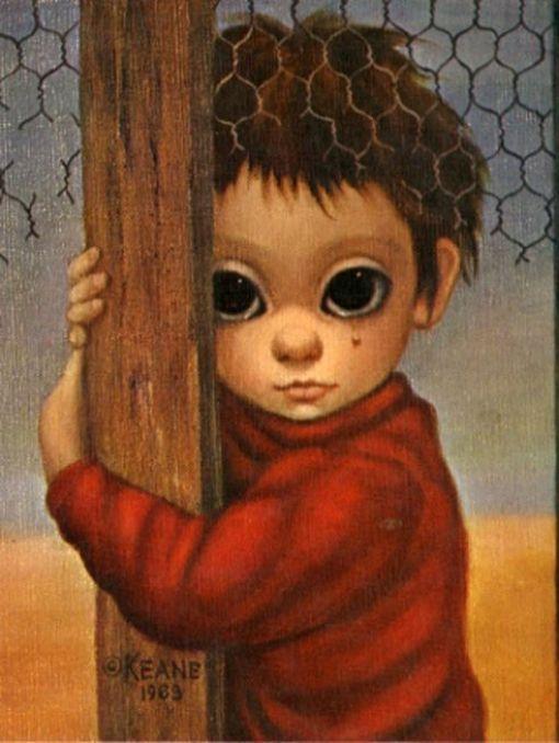 Margaret Keane y los ojos grandes que denuncian la opresión.
