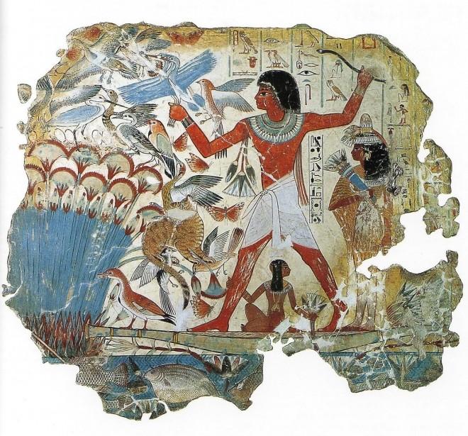 La Pintura en el Antiguo Egipto. Viajamos al pasado del arte.