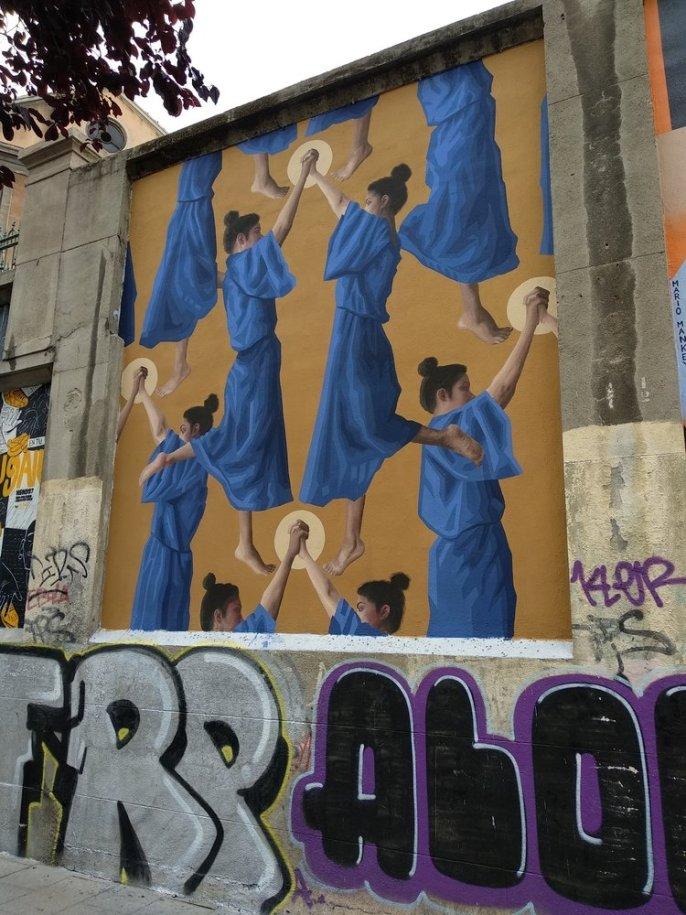 Arte urbano, la ruta madrileña de arte en la calles. Descarga, tu guía gratis.