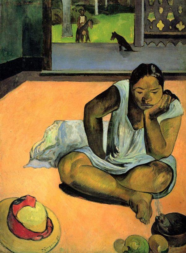 Paul Gauguin, el banquero arruinado que se hizo artista.