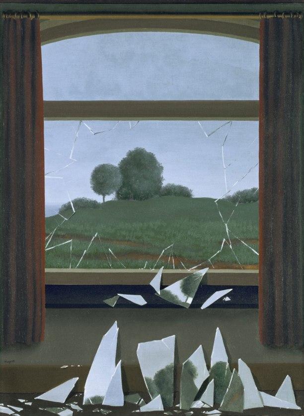 Magritte y los objetos perturbadores y mágicos de su pintura.