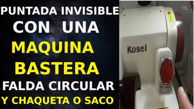 Costura invisible