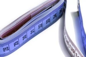 herramientas de costura - cinta métrica