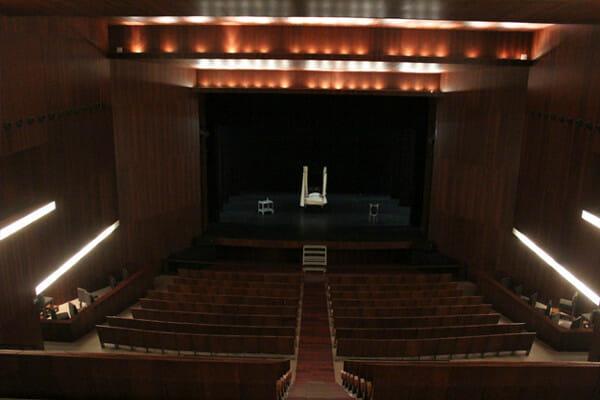 Interior del Teatro Pedro Muñoz Seca de El Puerto de Santa María