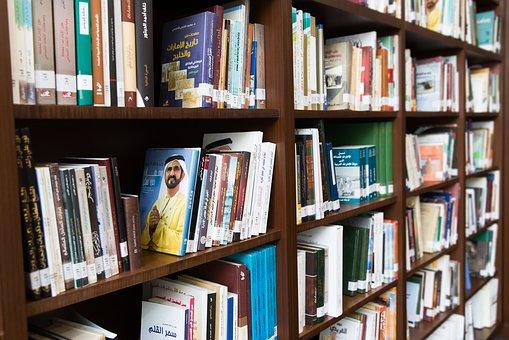 Estantería de biblioteca (eventos literarios y relacionados con la Historia)