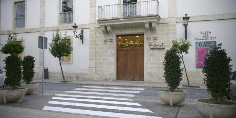 Portada del Teatro Pedro Muñoz Seca (El Puerto de Santa María)