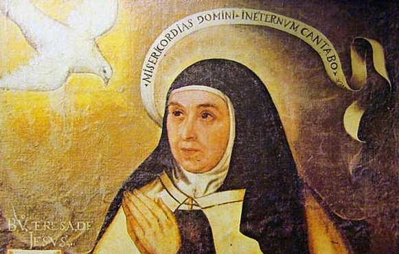 Santa Teresa de Jesús (Fuente: http://www.stj500.com/por-que-pablo-vi-hizo-doctora-de-la-iglesia-a-santa-teresa-de-jesus/)