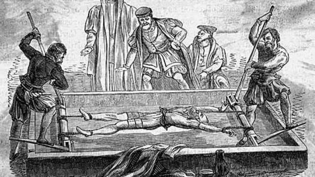 Sometimiento a tortura en el potro (Arte y Cultura en la Bética)