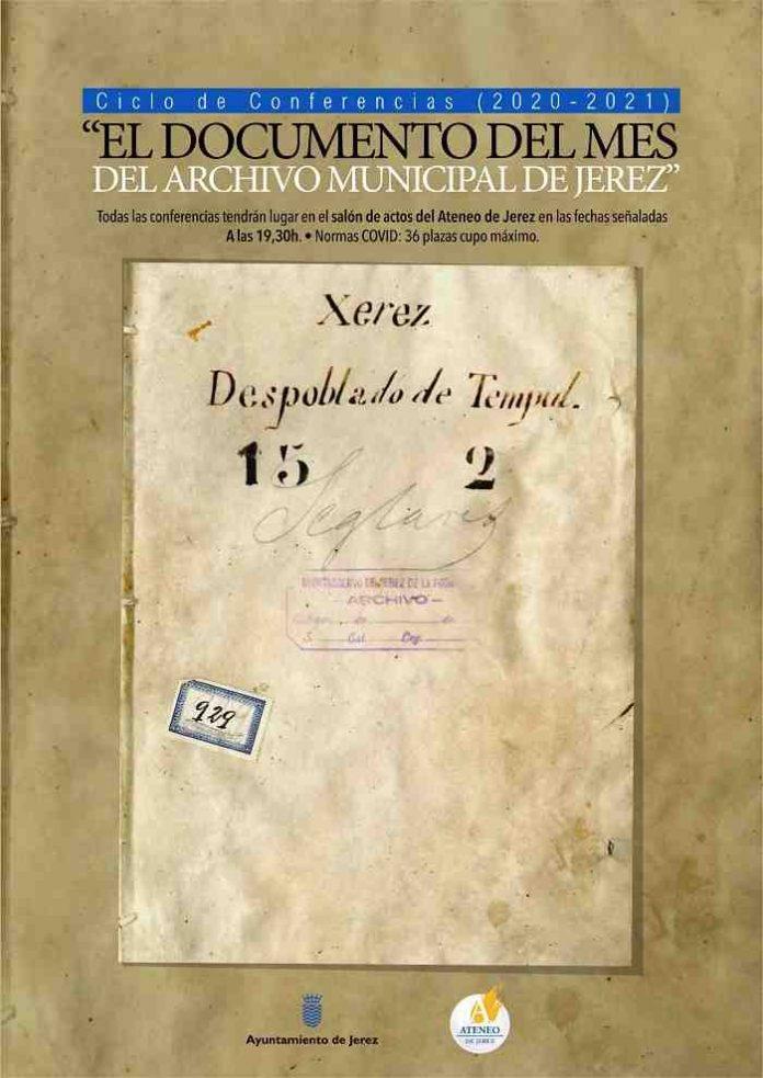 Ciclo de conferencias documento del mes - Archivo Municipal y Ateneo de Jerez
