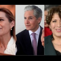Diversas encuestas ponen a Delfina Gómez como preferida de los mexiquenses