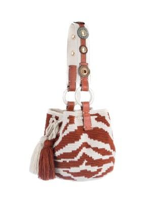 Arte y Tejido, Chorrera, Mochila, Tejida, Knitted, Crochet, Natural Fibers, Algodón, Cotton, Fibras Naturales, Bag, Avy, Frenesí, Mochila Avy
