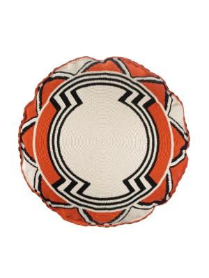 Arte y Tejido, Chorrera, Cojín, Cushion, Tejido, Knitted, Crochet, Natural Fibers, Algodón, Cotton, Fibras Naturales, Bazarut, Cojin Bazarut, Bazarut Cushion