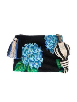 Arte y Tejido, Mochila Busty, Chorrera, Mochila, Tejida, Knitted, Crochet, Natural Fibers, Algodón, Cotton, Fibras Naturales, Bag, Busty