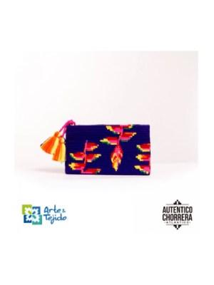 Arte y Tejido, Mochila Cacatua, Chorrera, Mochila, Tejida, Knitted, Crochet, Natural Fibers, Algodón, Cotton, Fibras Naturales, Bag, Cacatua