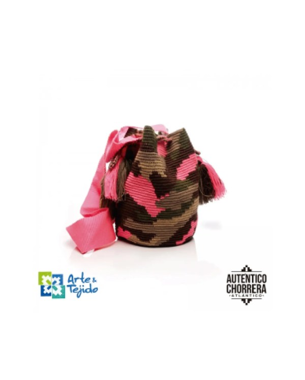 Arte y Tejido, Mochila Camu, Chorrera, Mochila, Tejida, Knitted, Crochet, Natural Fibers, Algodón, Cotton, Fibras Naturales, Bag, Camu