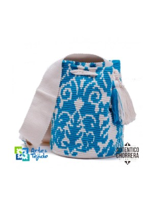 Arte y Tejido, Mochila Chardin, Chorrera, Mochila, Tejida, Knitted, Crochet, Natural Fibers, Algodón, Cotton, Fibras Naturales, Bag, Chardin