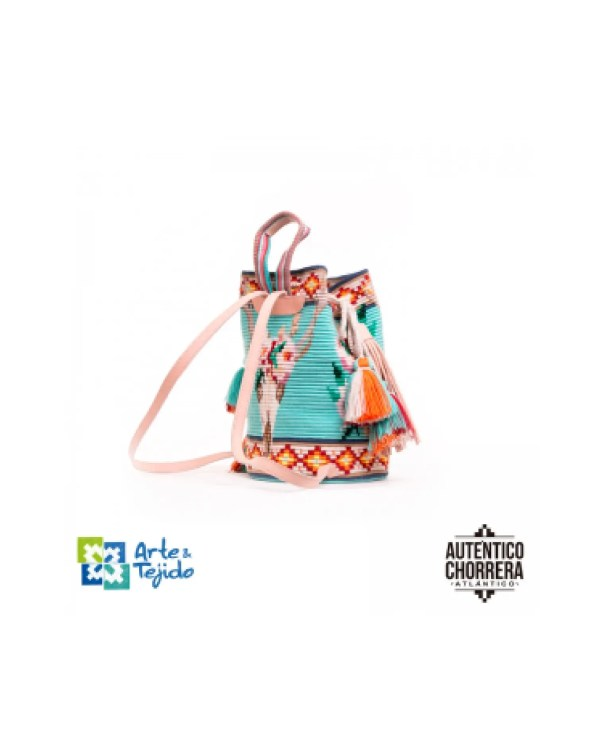 Arte y Tejido, Mochila Cherokee, Chorrera, Mochila, Tejida, Knitted, Crochet, Natural Fibers, Algodón, Cotton, Fibras Naturales, Bag, Cherokee