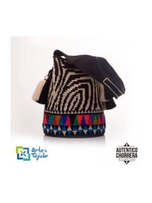 Arte y Tejido, Mochila Chita, Chorrera, Mochila, Tejida, Knitted, Crochet, Natural Fibers, Algodón, Cotton, Fibras Naturales, Bag, Chita