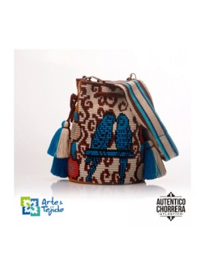 Arte y Tejido, Mochila Crepe, Chorrera, Mochila, Tejida, Knitted, Crochet, Natural Fibers, Algodón, Cotton, Fibras Naturales, Bag, Crepe