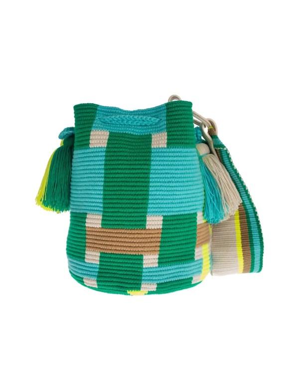 Arte y Tejido, Mochila Crozz, Chorrera, Mochila, Tejida, Knitted, Crochet, Natural Fibers, Algodón, Cotton, Fibras Naturales, Bag, Crozz