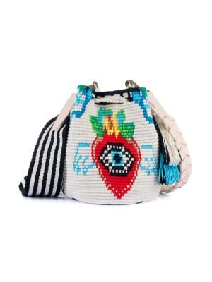Arte y Tejido, Chorrera, Mochila, Tejida, Knitted, Crochet, Natural Fibers, Algodón, Cotton, Fibras Naturales, Bag, Enzy, Frenesí, Mochila Enzy