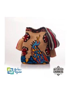 Arte y Tejido, Mochila Garza, Chorrera, Mochila, Tejida, Knitted, Crochet, Natural Fibers, Algodón, Cotton, Fibras Naturales, Bag, Garza