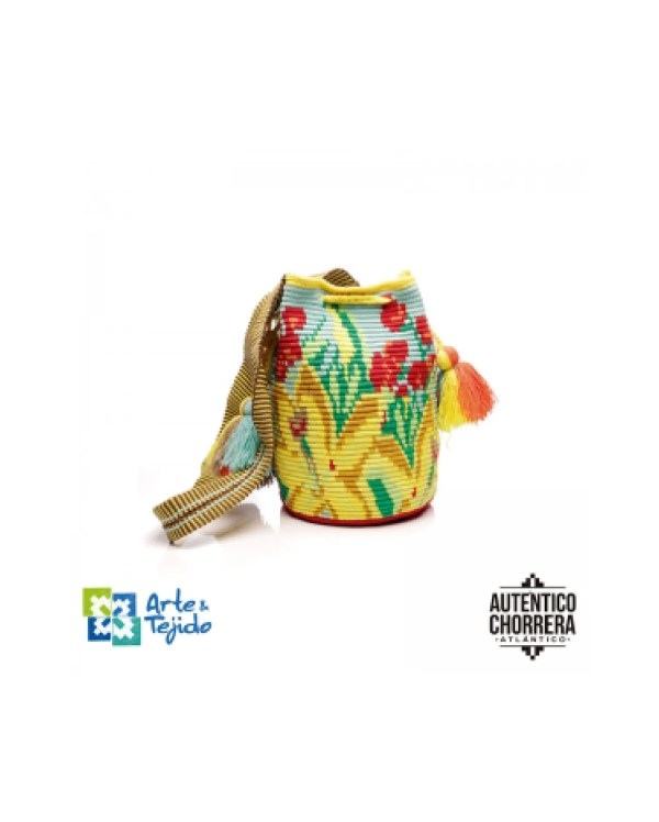 Arte y Tejido, Mochila Jade, Chorrera, Mochila, Tejida, Knitted, Crochet, Natural Fibers, Algodón, Cotton, Fibras Naturales, Bag, Jade