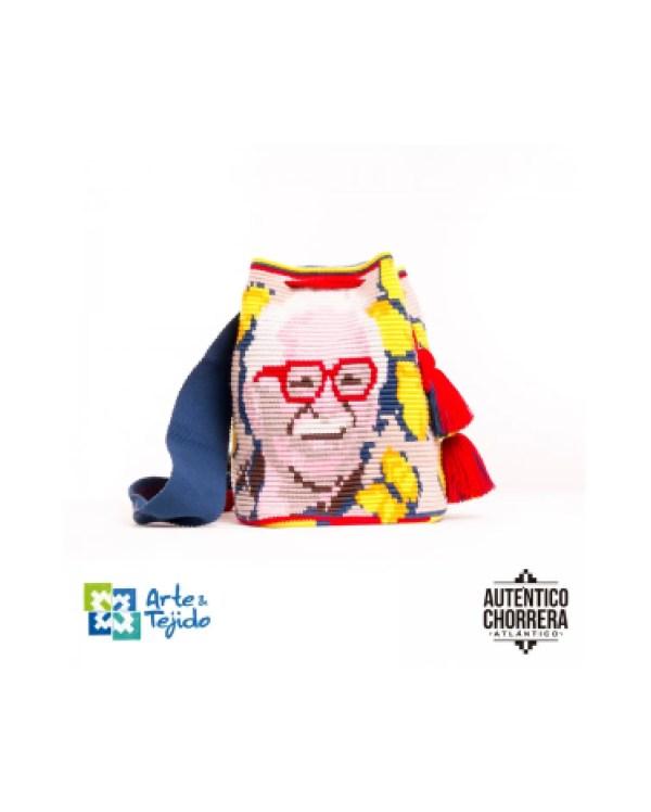 Arte y Tejido, Mochila Jose Arcadio, Chorrera, Mochila, Tejida, Knitted, Crochet, Natural Fibers, Algodón, Cotton, Fibras Naturales, Bag, Jose Arcadio