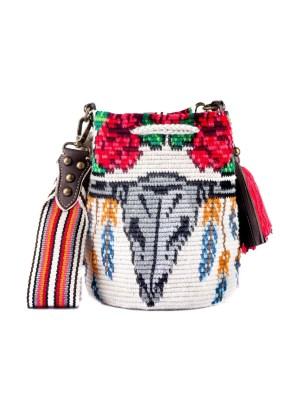 Arte y Tejido, Mochila Kao, Chorrera, Mochila, Tejida, Knitted, Crochet, Natural Fibers, Algodón, Cotton, Fibras Naturales, Bag, Kao