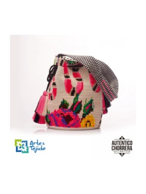 Arte y Tejido, Mochila Krati, Chorrera, Mochila, Tejida, Knitted, Crochet, Natural Fibers, Algodón, Cotton, Fibras Naturales, Bag, Krati
