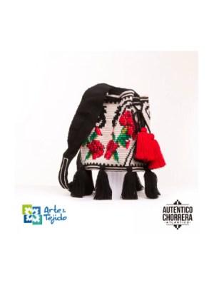 Arte y Tejido, Mochila Menorca, Chorrera, Mochila, Tejida, Knitted, Crochet, Natural Fibers, Algodón, Cotton, Fibras Naturales, Bag, Menorca