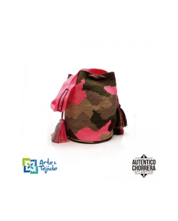 Arte y Tejido, Mochila Mimeta, Chorrera, Mochila, Tejida, Knitted, Crochet, Natural Fibers, Algodón, Cotton, Fibras Naturales, Bag, Mimeta