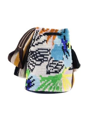 Arte y Tejido, Mochila Mixy, Chorrera, Mochila, Tejida, Knitted, Crochet, Natural Fibers, Algodón, Cotton, Fibras Naturales, Bag, Mixy
