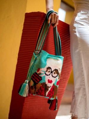Arte y Tejido, Chorrera, Mochila, Tejida, Knitted, Crochet, Natural Fibers, Algodón, Cotton, Fibras Naturales, Bag, Mory, Mochila Mory