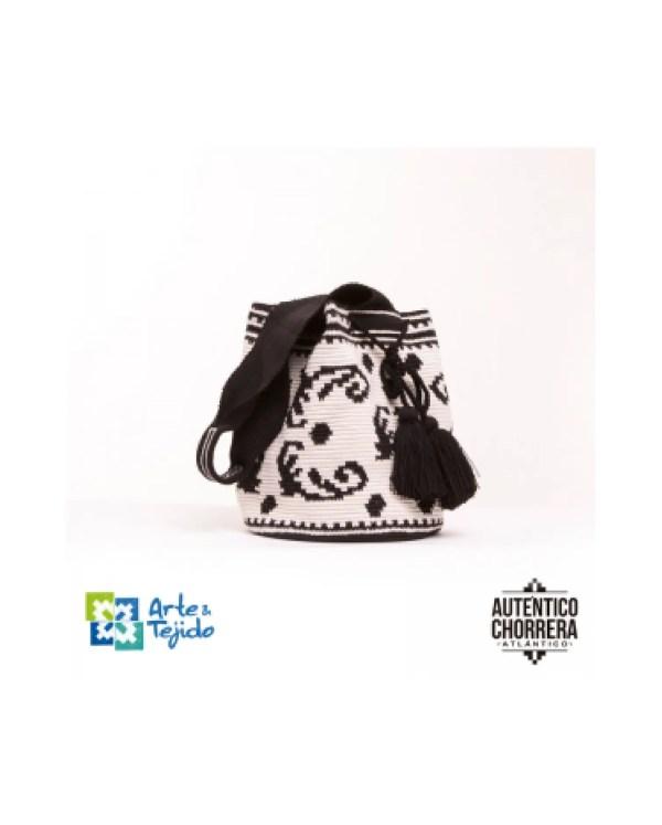 Arte y Tejido, Mochila Murcia, Chorrera, Mochila, Tejida, Knitted, Crochet, Natural Fibers, Algodón, Cotton, Fibras Naturales, Bag, Murcia