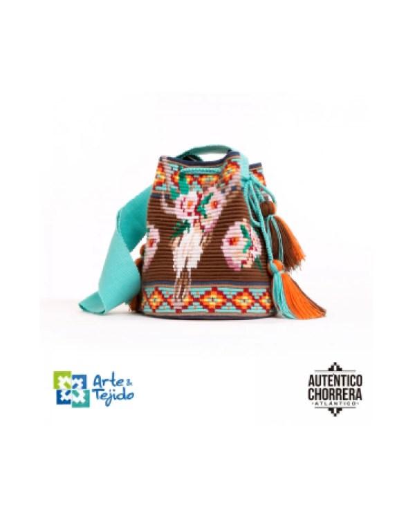 Arte y Tejido, Mochila Native, Chorrera, Mochila, Tejida, Knitted, Crochet, Natural Fibers, Algodón, Cotton, Fibras Naturales, Bag, Native