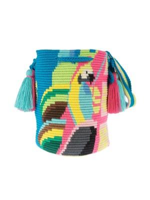 Arte y Tejido, Chorrera, Mochila, Tejida, Knitted, Crochet, Natural Fibers, Algodón, Cotton, Fibras Naturales, Bag, Nigel, Mochila Nigel