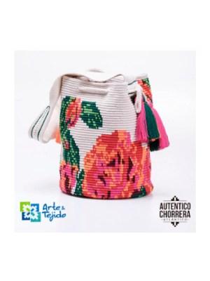 Arte y Tejido, Mochila Osiria, Chorrera, Mochila, Tejida, Knitted, Crochet, Natural Fibers, Algodón, Cotton, Fibras Naturales, Bag, Osiria