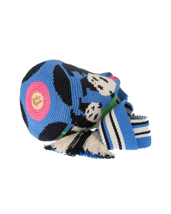 Arte y Tejido, Chorrera, Mochila, Tejida, Knitted, Crochet, Natural Fibers, Algodón, Cotton, Fibras Naturales, Bag, Pandy, Mochila Pandy