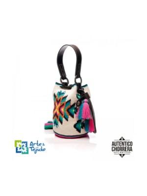Arte y Tejido, Mochila Pima, Chorrera, Mochila, Tejida, Knitted, Crochet, Natural Fibers, Algodón, Cotton, Fibras Naturales, Bag, Pima