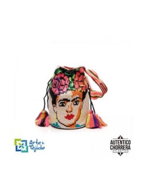 Arte y Tejido, Mochila Puebla, Chorrera, Mochila, Tejida, Knitted, Crochet, Natural Fibers, Algodón, Cotton, Fibras Naturales, Bag, Puebla