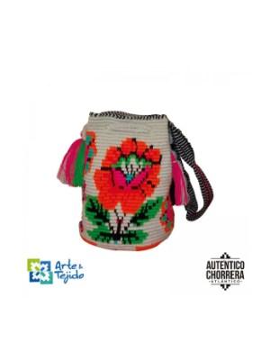 Arte y Tejido, Mochila Purple, Chorrera, Mochila, Tejida, Knitted, Crochet, Natural Fibers, Algodón, Cotton, Fibras Naturales, Bag, Purple