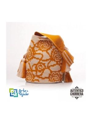 Arte y Tejido, Mochila Quinoa, Chorrera, Mochila, Tejida, Knitted, Crochet, Natural Fibers, Algodón, Cotton, Fibras Naturales, Bag, Quinoa