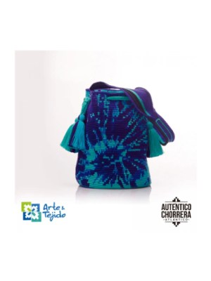 Arte y Tejido, Mochila Rolling, Chorrera, Mochila, Tejida, Knitted, Crochet, Natural Fibers, Algodón, Cotton, Fibras Naturales, Bag, Rolling