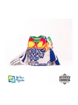 Arte y Tejido, Mochila Scalea, Chorrera, Mochila, Tejida, Knitted, Crochet, Natural Fibers, Algodón, Cotton, Fibras Naturales, Bag, Scalea