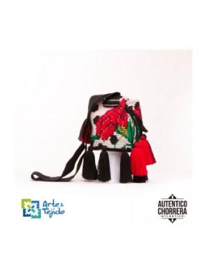 Arte y Tejido, Mochila Sevilla, Chorrera, Mochila, Tejida, Knitted, Crochet, Natural Fibers, Algodón, Cotton, Fibras Naturales, Bag, Sevilla