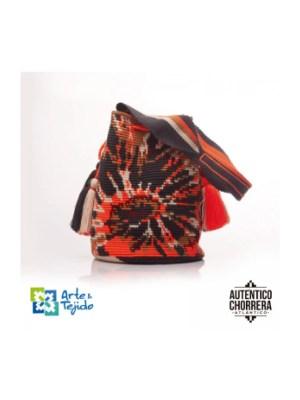 Arte y Tejido, Mochila Stone, Chorrera, Mochila, Tejida, Knitted, Crochet, Natural Fibers, Algodón, Cotton, Fibras Naturales, Bag, Stone