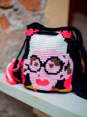 Arte y Tejido, Chorrera, Mochila, Tejida, Knitted, Crochet, Natural Fibers, Algodón, Cotton, Fibras Naturales, Bag, Styly, Mochila Styly